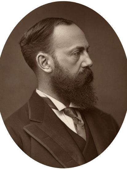 Sir Charles Wentworth Dilke, Mp, Under-Secretary of State for Foreign Affairs, 1881--Photographic Print