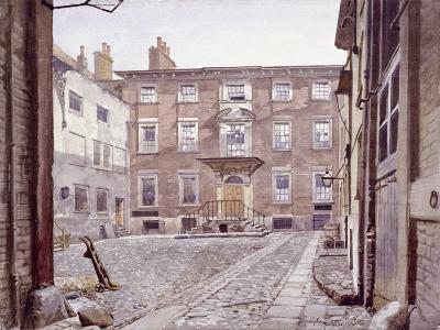 Sir Christopher Wren's House, Botolph Lane, London, 1886-John Crowther-Giclee Print