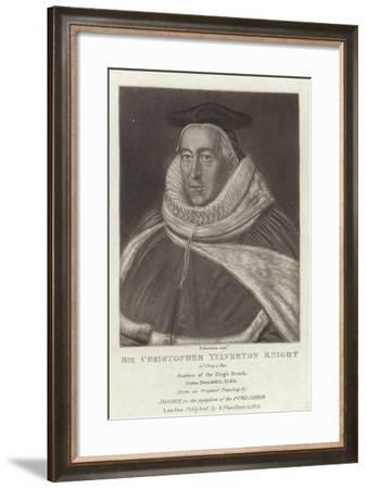 Sir Christopher Yelverton Knight--Framed Giclee Print
