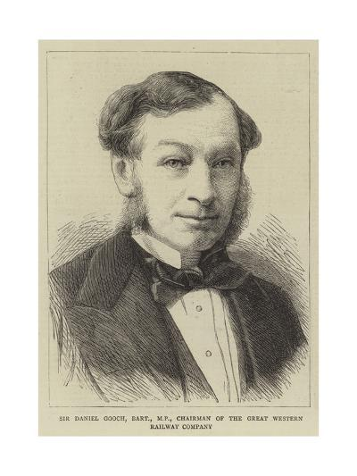 Sir Daniel Gooch, Baronet, Mp, Chairman of the Great Western Railway Company--Giclee Print