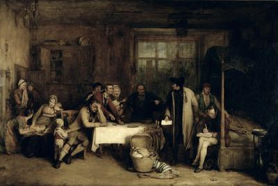 Distraining for Rent, 1815 (Panel)