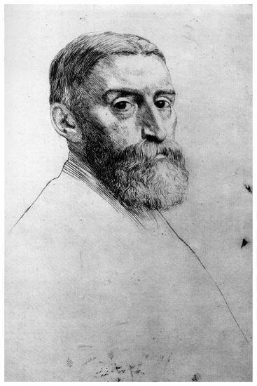 Sir E Poynter, C1860-1910-Alphonse Legros-Giclee Print