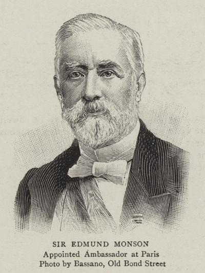 Sir Edmund Monson--Giclee Print