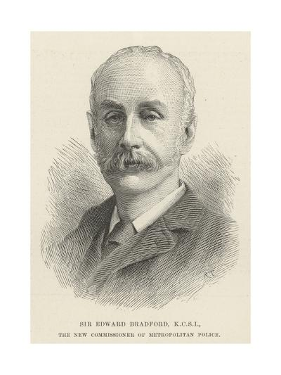 Sir Edward Bradford, Kcsi, the New Commissioner of Metropolitan Police--Giclee Print