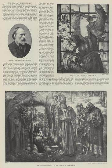 Sir Edward Burne-Jones-Edward Burne-Jones-Giclee Print