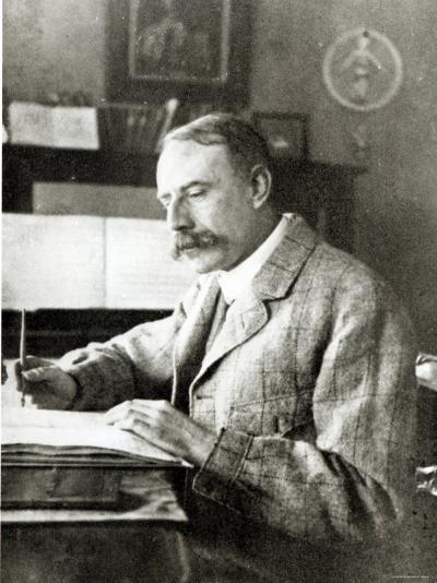 Sir Edward Elgar--Photographic Print