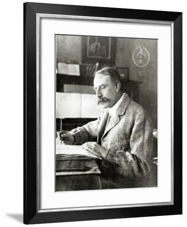 Sir Edward Elgar--Framed Photographic Print