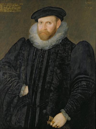 Sir Edward Grimston (1529-1610) as a Young Man-Robert, the Elder Peake-Giclee Print