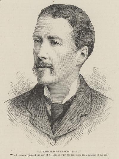 Sir Edward Guinness, Baronet--Giclee Print