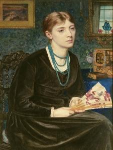 Portrait of Louise A. Baldwin, 1868 by Sir Edward John Poynter