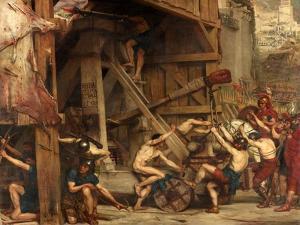 The Catapult, C.1868-72 by Sir Edward John Poynter