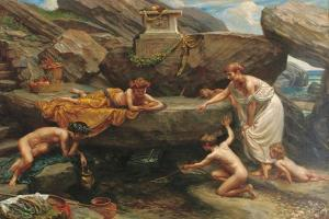 The Wonders of the Deep: an Idyll by Sir Edward John Poynter