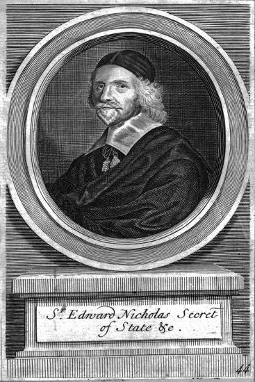 'Sir Edward Nicholas, Secretary of State', mid-late 17th century-Unknown-Giclee Print