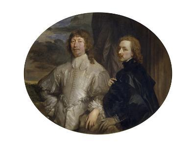 Sir Endymion Porter and Sir Anthony Van Dyck-Sir Anthony Van Dyck-Giclee Print