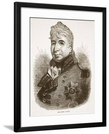 Sir Eyre Coote, Illustration from 'Cassell's Illustrated History of India'--Framed Giclee Print