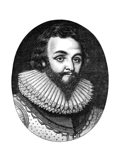 Sir Francis Drake, 16th Century English Navigator and Privateer, C1880--Giclee Print