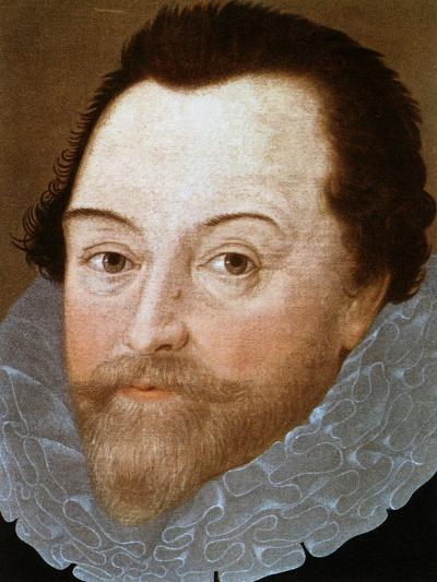 Sir Francis Drake, English Sailor, 1591-Marcus Gheeraerts The Younger-Giclee Print