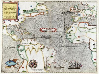 Sir Francis Drake's Voyage 1585-1586-Library of Congress-Photographic Print