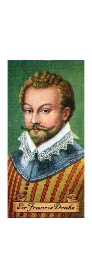 Sir Francis Drake, taken from a series of cigarette cards, 1935. Artist: Unknown-Unknown-Giclee Print