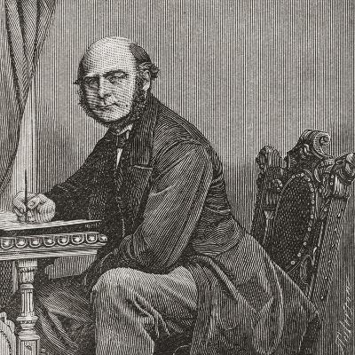 Sir Francis Galton--Giclee Print