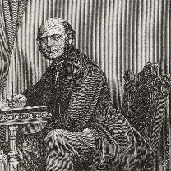 Sir Francis Galton Giclee Print by   Art com