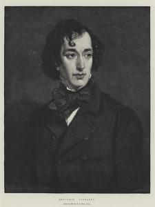Benjamin Disraeli by Sir Francis Grant