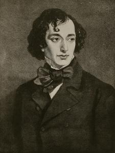 Portrait of Benjamin Disraeli, Illustration from 'Hutchinson's Story of the British Nation', C.1923 by Sir Francis Grant
