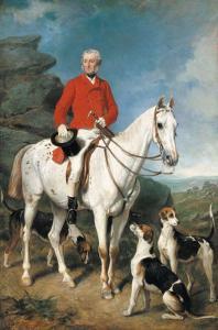 Portrait of Charles Trelawny by Sir Francis Grant
