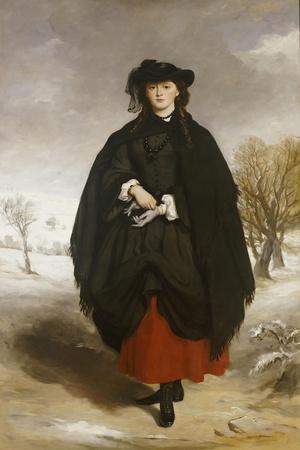 Portrait of Daisy Grant, the Artist's Daughter