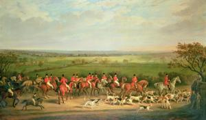 Queen Victoria Riding with the Quorn by Sir Francis Grant