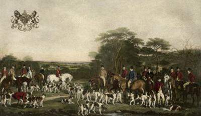 Sir Richard Sutton and the Quorn Hounds by Sir Francis Grant