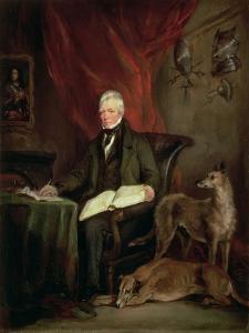 Sir Walter Scott (1771-1832), 1831 by Sir Francis Grant