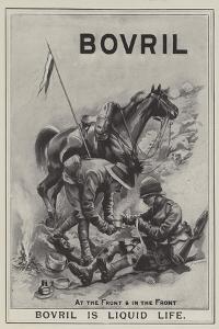Advertisement, Bovril by Sir Frederick William Burton