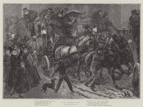 Meeting on the Turret Stair, Helellil and Hildebrand, 1864-Sir Frederick William Burton-Giclee Print