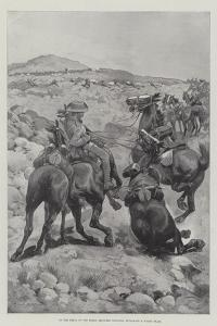 On the Heels of the Boers, Mounted Infantry Attacking a Wagon Train by Sir Frederick William Burton