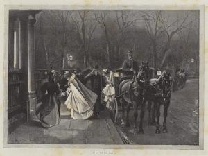 To See the New Year In by Sir Frederick William Burton