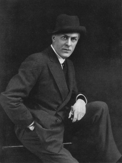 Sir George Alexander (1858-191), Theatrical Actor-Manager, 1911-1912-Alfred & Walery Ellis-Giclee Print