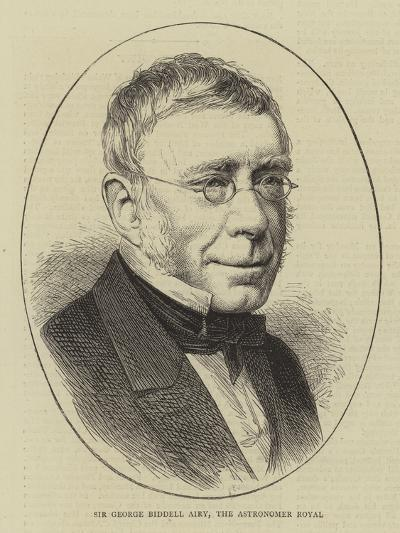 Sir George Biddell Airy, the Astronomer Royal--Giclee Print
