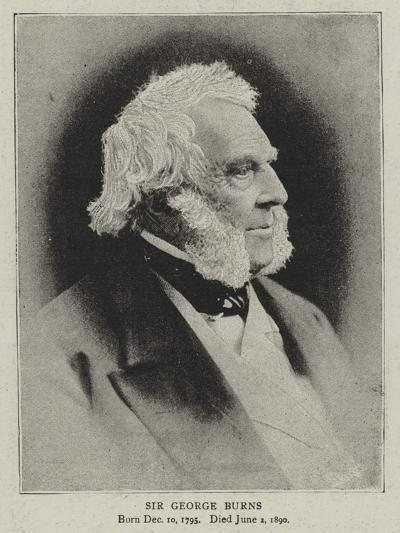 Sir George Burns--Giclee Print