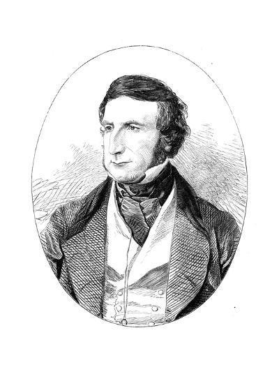 Sir George Cornewall Lewis (1806-186), British Statesman and Man of Letters--Giclee Print