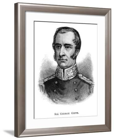 Sir George Gipps, Governor of New South Wales-WA Hirschmann-Framed Giclee Print