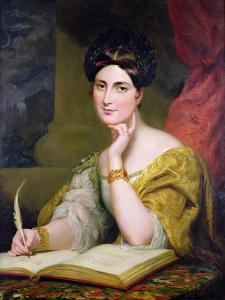 Portrait of the Hon. Mrs. Caroline Norton, 1832 by Sir George Hayter