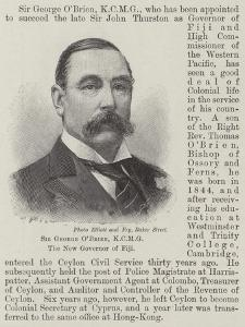 Sir George O'Brien, the New Governor of Fiji
