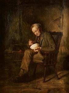 A Meal of Porridge, 1883 by Sir George Reid