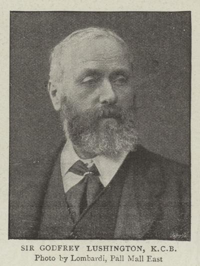 Sir Godfrey Lushington--Giclee Print