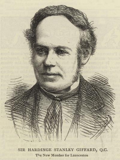 Sir Hardinge Stanley Giffard, QC--Giclee Print
