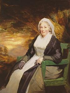 Christina Lamont Drummond, Mrs. Douglas Campbell of Ballimore, C.1795 by Sir Henry Raeburn