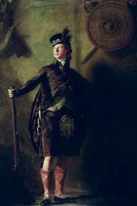 Colonel Alistair Macdonell of Glengarry, Exh. 1812 by Sir Henry Raeburn
