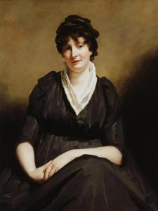 Dundas of Dundas Seated, Three-Quarter Length Wearing a Charcoal Dress by Sir Henry Raeburn