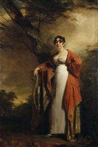 Frances Harriet Wynne, Mrs Hamilton of Kames, before June 1811 by Sir Henry Raeburn